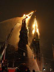 2008 fire engulfs Old St. George Church on Calhoun Street