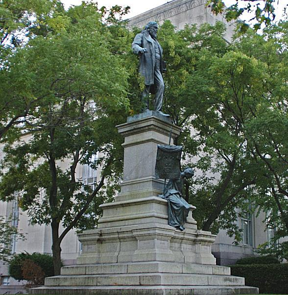 Albert Pike was the head of the Scottish Rite, Southern Jurisdiction of the Masonic fraternity, and a leading Southern Democrat. His life-size statue has been accorded a prominent place at our Nation's Capital among the distinguished citizens of America.
