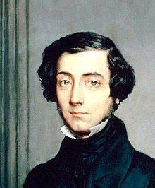 Alexis de Tocqueville, French diplomat and historian (circa 1805-59)