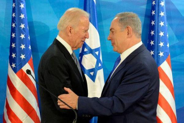 Vice-president Joe Biden meets with Benjamin Netanyahu, March 9, 2016.