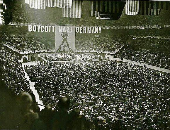 massive anti-Nazi protest to take place on March 27 at Madison Square Garden in New York City