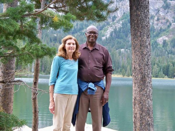 Going against biblical directive, Charles Ware interracially married with a white woman.