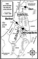 Dan and Bethel became the two-new rival centers to Jerusalem.