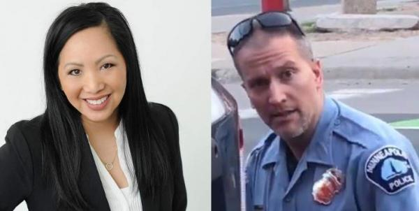 Meet Kellie Chauvin also known as Kelli May Xiong; she is the wife of Derek Chauvin, the Minneapolis police officer who knelt on the neck of George Floyd who later died.