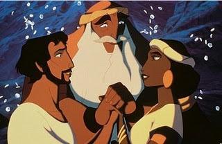 """Prince of Egypt"" cartoon"