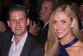 Eric Trump is married to Lara Yunaska.  Both of Lara's parents are Jewish.