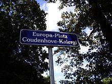 Europa-Platz – Coudenhove-Kalergi in Klosterneuburg, Austria