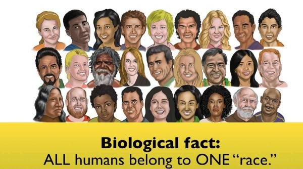 According to Answers in Genesis, the Bible's account of the Tower of Babel explains what happened in history to form the division of the one human race into different nations/cultures (NOT races). However this is erroneous. No other races are descendants of Abraham, Isaac and Jacob.
