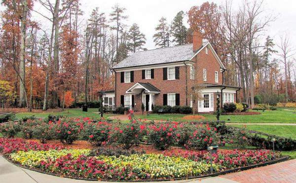 Billy Graham's childhood home in Charlotte, North Carolina
