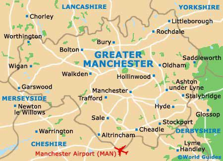 The Lancashire, Cheshire, and Greater Manchester area of the England's Industrial Revolution