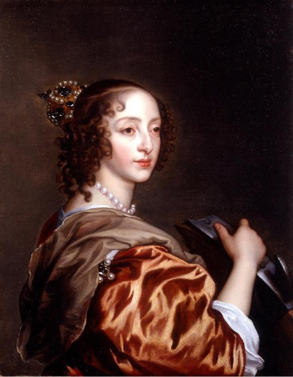 Henrietta Maria of France (November 25, 1609 – September 10, 1669), was queen consort of England, Scotland, and Ireland as the wife of King Charles I.