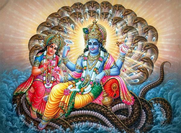 "Hindu worship is represented by the ""serpent."" All the main gods of India have a serpent or serpents near them."