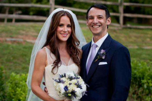 Biden's daughter, Ashley, and her husband, Dr. Howard Krein, a Jewish Canaanite.