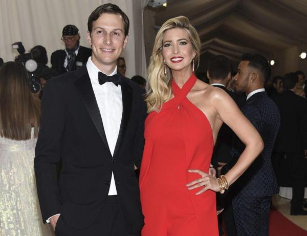 Jared and Ivanka Kushner.  Jared's father, Charles Kushner, is jewish.
