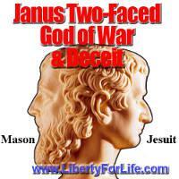 Janus ... Two-faced god of war and deceipt