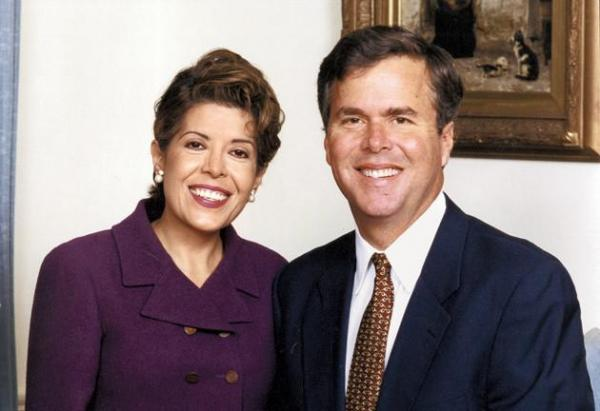 Columba Bush is of Mexican descent