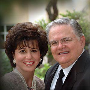 Pastor John Hagee with his second wife, Diana.