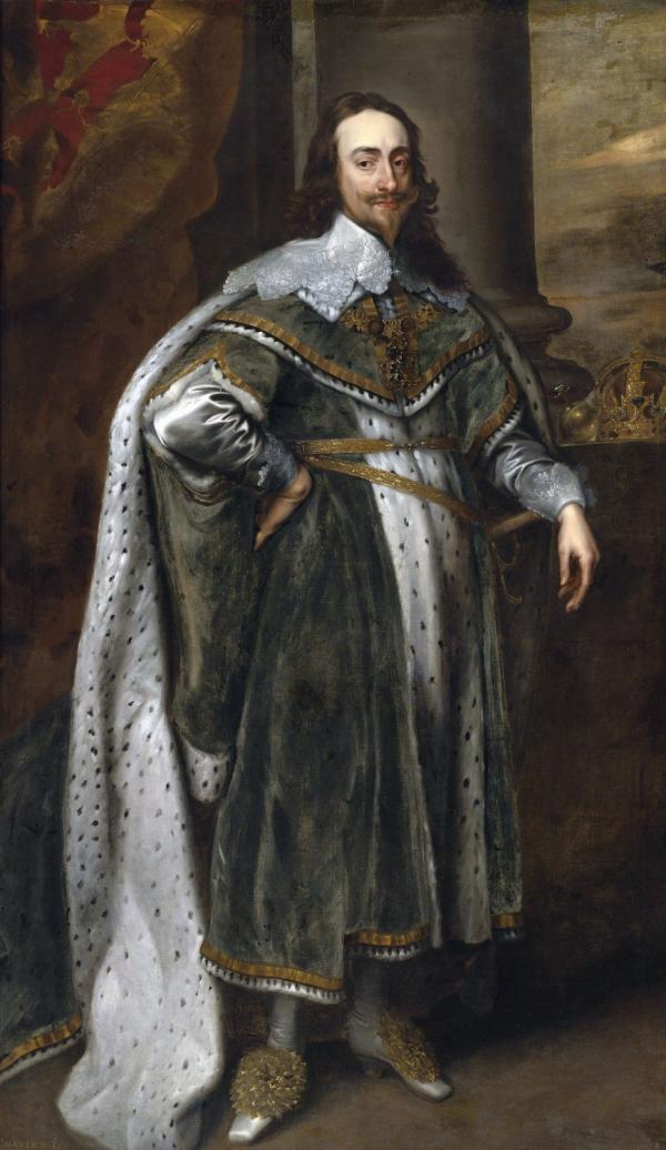 King Charles I persecuted many dissenters of the Anglican Church; Pilgrims and Puritans. His financial state had worsened to such a degree that he had no choice but to recall a Parliament whose condemnation of his style of rule would lead the country to Civil War and to his execution in 1649.