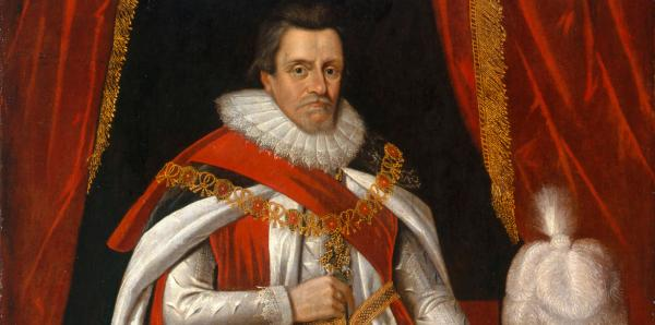 King James I persecuted many of the Puritans and Pilgrims forcing many of them to leave England. During his ruler ship, he was not able to solve the country's financial or political problems. When he died in 1625 the country was badly in debt.