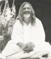 Maharishi Mahesh Yogi, one of the leaders of Transcendental Meditation, a revolutionary in the world of yoga teaching.