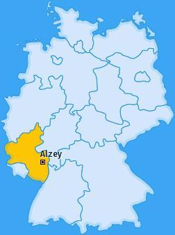 August Belmont was born in Alzey in Prussia.