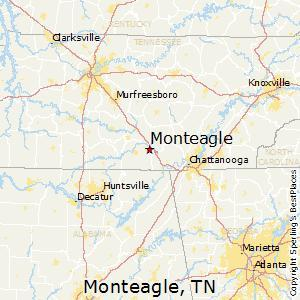Monteagle, Tennessee is in southern part of the state, just north of Alabama.