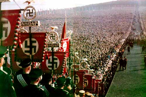 "Hitler took the spiritual blinders off his people and they were then exalted among the rest of Europe. What God has established is far above the much hated ""Establishment."" The entire White race shall be saved and shall flow like a river into the hands of their Savior and Deliverer. The enemy will have no chance of recovery."