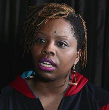 Cullors is an advocate for prison abolition in Los Angeles and a co-founder of the Black Lives Matter movement. She also identifies as a queer activist, because she is a queer.