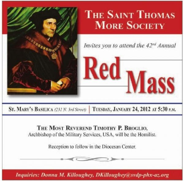 An Invitation to the Red Mass