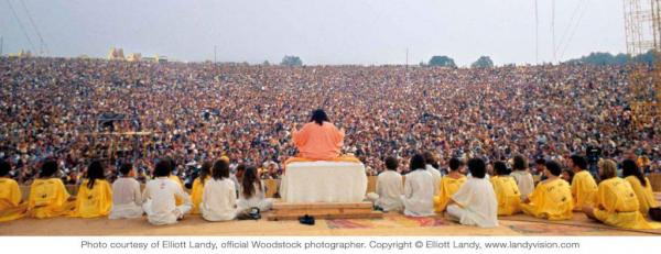 """""""Music is a celestial sound"""" per Satchidananda in his speech at Woodstock. Apparently he thinks ALL all kinds of music are a celestial sound."""