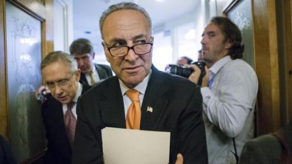 Richard Schumer, a Jew, is leading the movement to criminalize any criticism of Israeli.