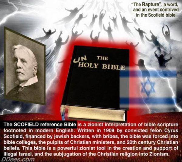 The Scofield reference Bible is a zionist interpretation of bible scripture footnoted in modern English.