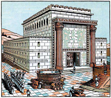 Solomon's Temple in Jerusalem