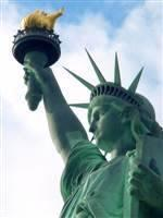 Is this Semiramis holding the torch of Nimrod? The statue of Liberty given to the United States by the French Freemasons.