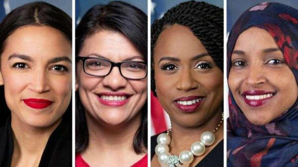 """The Squad"" – four new Democrat Congresswomen who are in line with the jewish goal, even though some of them hate the jews."