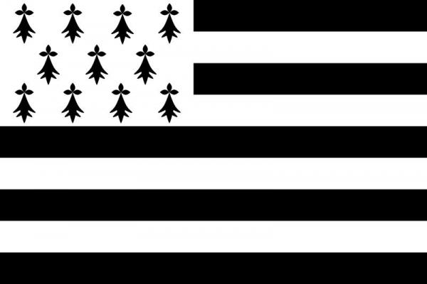The flag of the Bretons is a modern (20th Century) invention and design, though there are older elements in it.
