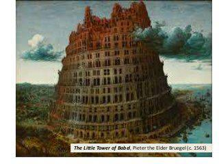 Rendition of the Tower of Babel