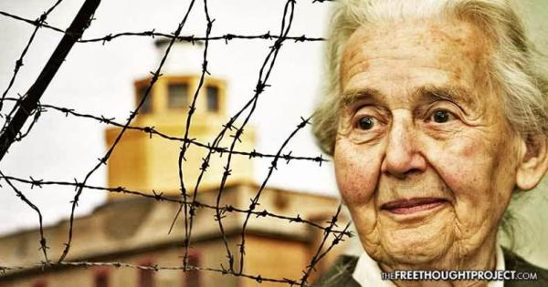 """Ursula Haverbeck-Wetzel says there's no proof that Auschwitz was a death camp and that it is """"only a belief."""". She's been convicted of """"inciting hatred""""."""