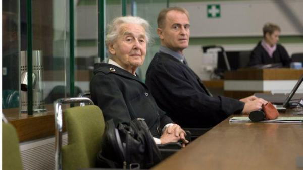 "Ursula Haverbeck, dubbed the ""Nazi Grandma"" is yet to go to jail.  Under German law, Holocaust denial constitutes a crime and carries a sentence of up to five years in jail."