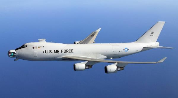 Airplanes have already been developed for the Air Force with the laser weapon on the tip of the airplane.