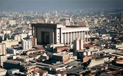 The replica of Solomon's Temple in Sao Paulo, Brazil