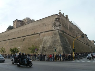 Pope Francis' walled city